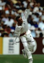 Phil Tufnell Autograph Signed Photo